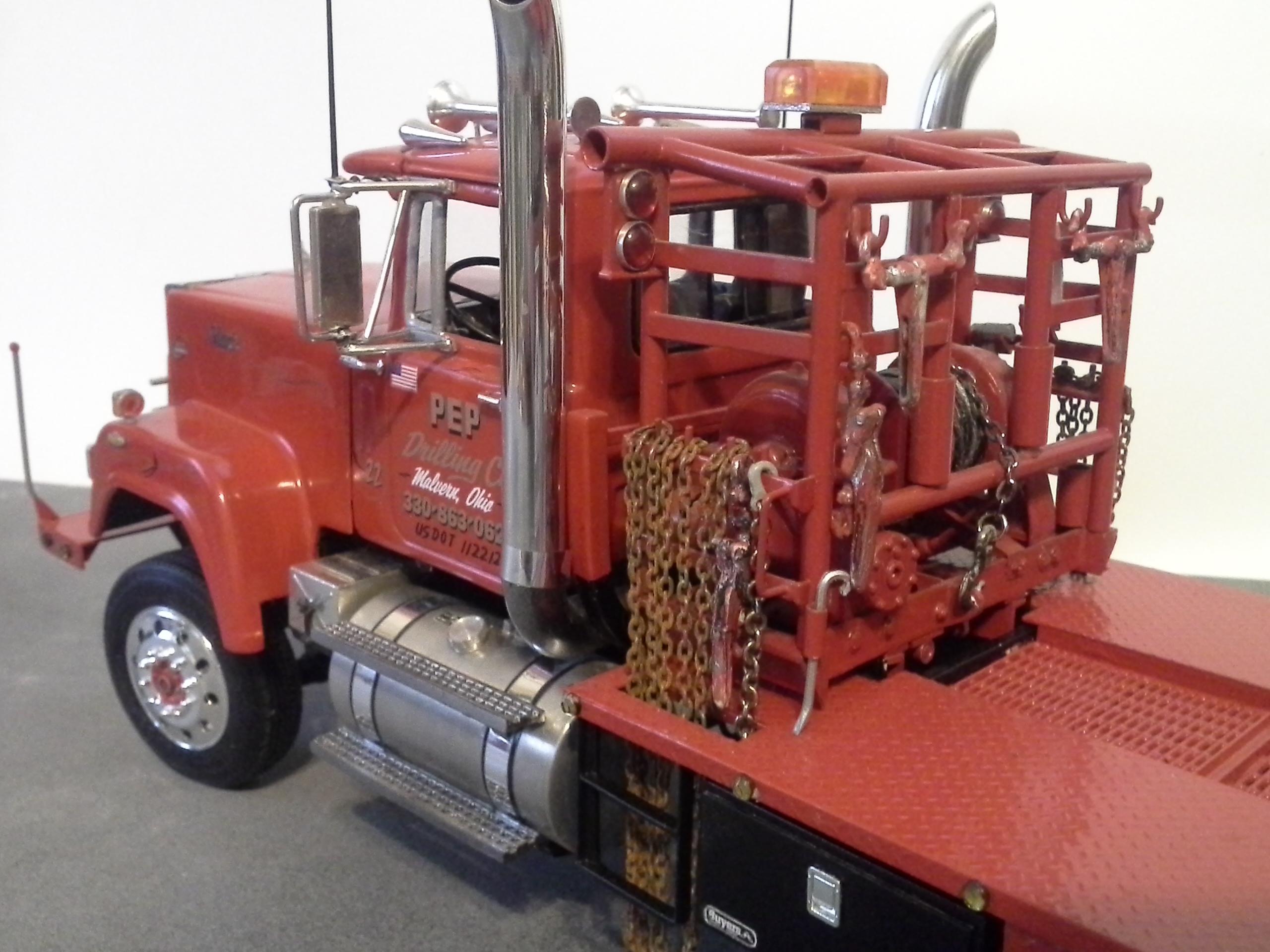 Moluminum Model Truck Parts
