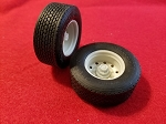 Trailer Super Singles Set of 2 Tires, Wheels, And Hub