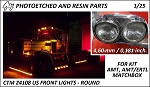 US Front lights Round (AMT/Ertl)