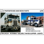Peterbilt / Hayes Clipper Lights