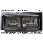 US Front Lights Oblong