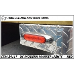 Us Moderm Marker lights (Red)