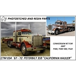 1967 - 1972 Peterbilt California Hauler