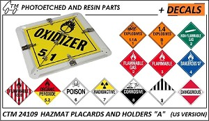 Hazmat Holders and Placards