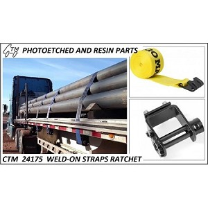 weld on Ratchet Straps and Accessories (Yellow)