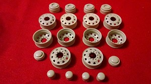 Kenworth Wheels Set